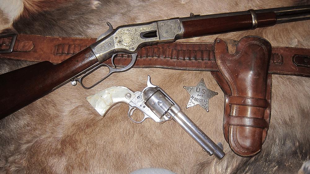 Cowboy Belt and Western Holster - Bunkhouse Rig