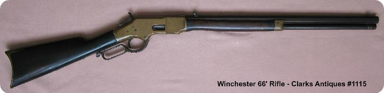 Winchester 1866 Henry Marked Rifle