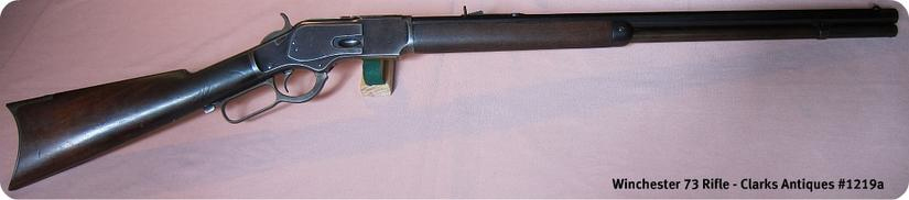 Winchester 1873 Rifle 38 Caliber
