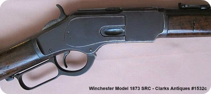 Right side frame for this Winchester 1873 SRC 38 WCF