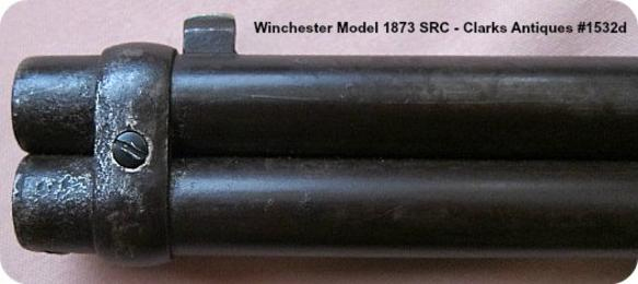 Replaced barrel band screw for this Winchester 1873 SRC 38 WCF