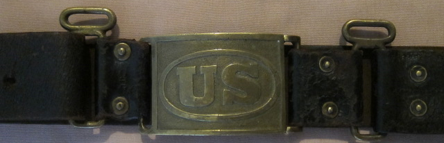 1872 Pattern Infantry Belt Plate